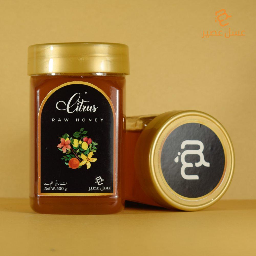 Citrus Raw Honey 500 g