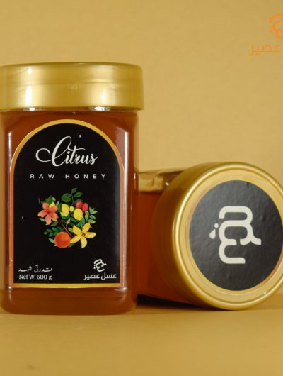 Citrus Raw Honey 500 g