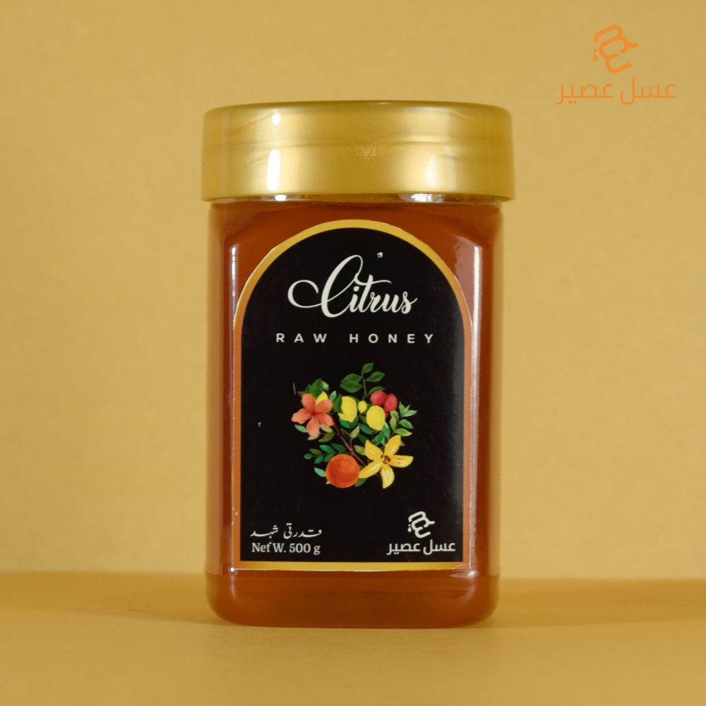Raw Citrus Honey 500 g