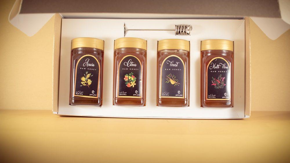 Gift box of Raw Honey